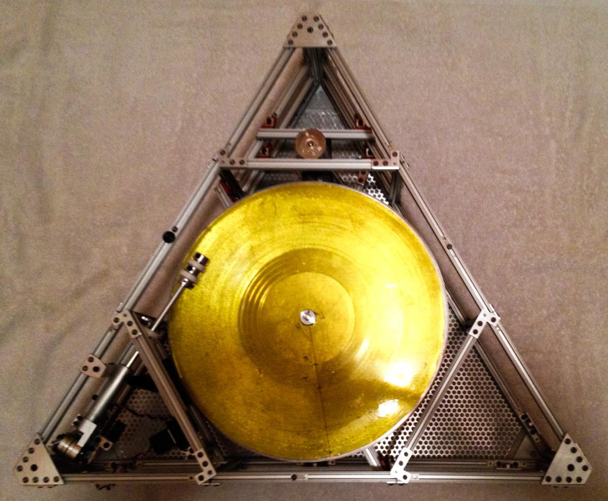 Jack White vinyl players space Craft Icarus Project