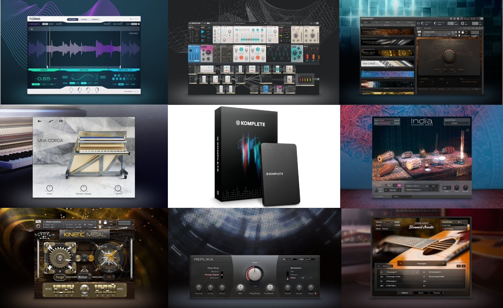 music production DAW software Native Instruments producers