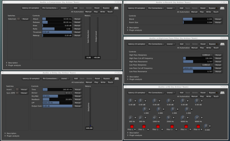 DAW software music production
