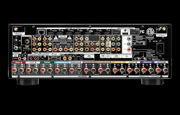 Denon music streaming HEOS tech integration