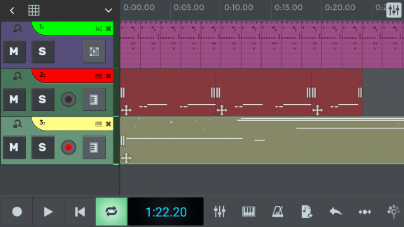 Here you can see how easy to navigate N-Track's interface with no excess