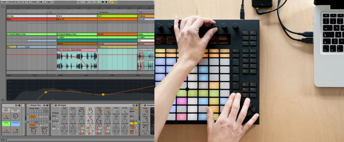 Ableton Live Push music DAW software production