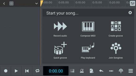 N-Track mobile DAW music production creation MIDI