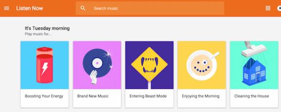 google play music music streaming service streams personalised custom personal