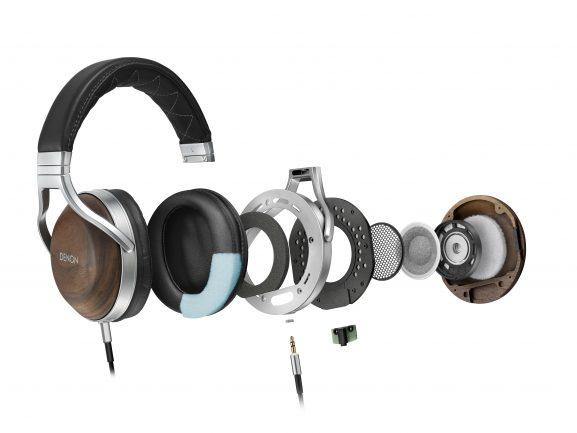 Denon headphones audiophile music listening sound audio