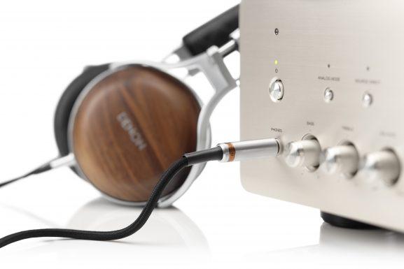 Denon audiophile headphones music listening audio sound