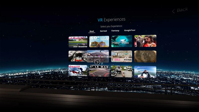 VR virtual reality app application mobile music video android iphone immersive spotify soundcloud