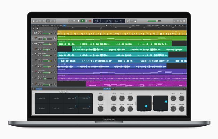 Apple logic mac garageband music software update