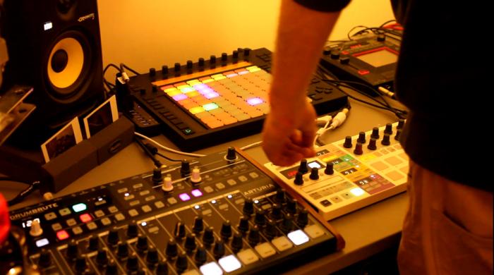 Arturia Beatstep Pro sequencer controller MIDI music equipment drum machine DAW production