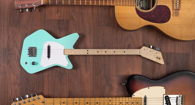 Loog guitars learning guitar kids