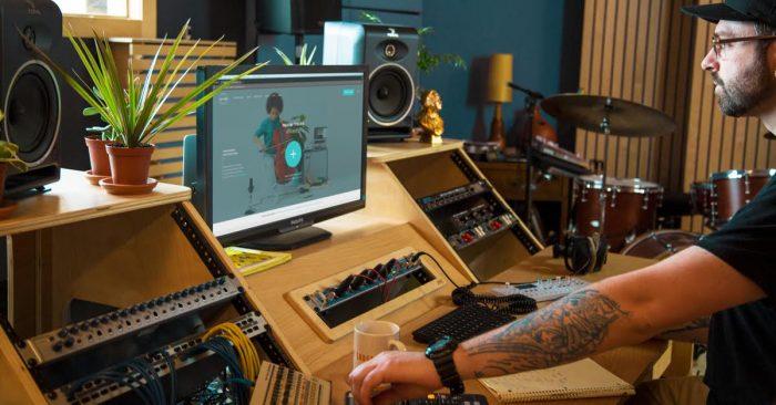 LANDR Mastering software RouteNote digital music distribution free WAVS mixing new look upgrade overhaul