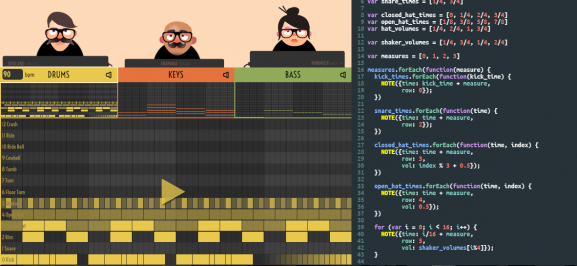 Jazzari music coding programming trio jazz code