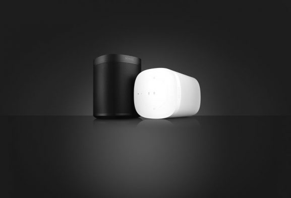 Sonos One voice controlled Alexa powered AI speaker music streaming