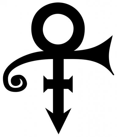 Prince logo marketing band music