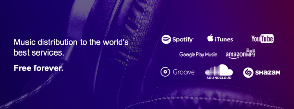 RouteNote stores music distribution digital online stores streaming spotify itunes apple tidal