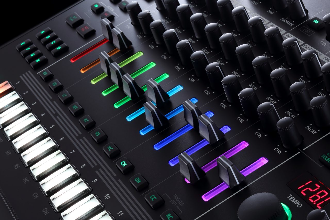 all roland 39 s classic drum machines are packed into their new tr 8s routenote blog. Black Bedroom Furniture Sets. Home Design Ideas