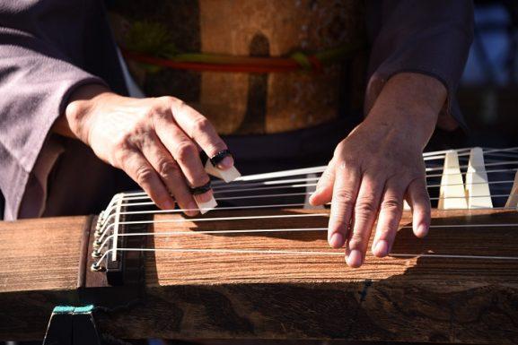 The Japanese Koto GarageBand instrument