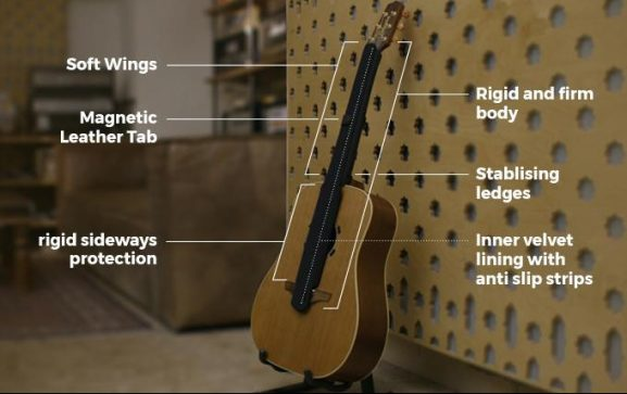 guitar G-Suit case instrument protect maintain guitars bass
