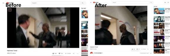 Vertical videos YouTube video stream watch format update feature