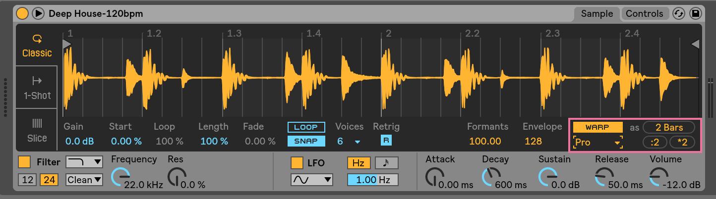 stretching samples creative sampling music production sample ableton daw software