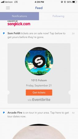 Pandora AMP marketing platform artists gigs concerts