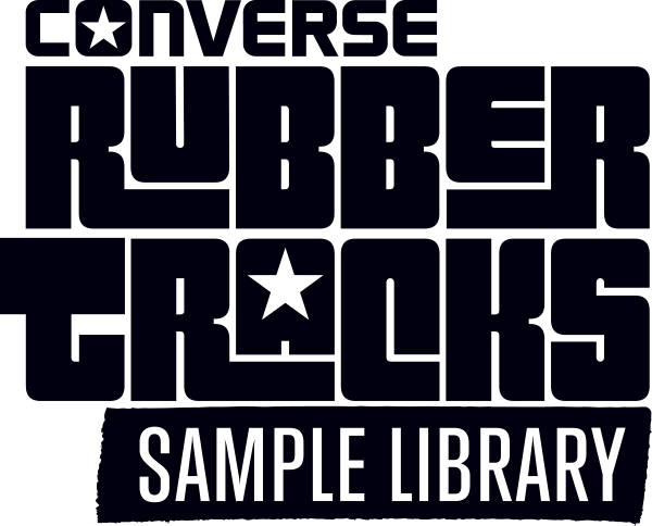 Converse Rubber Tracks sample library samples sampling loops hits music production producer