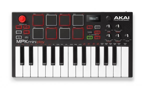 MPK Mini Play Akai keyboard midi controller music instrument