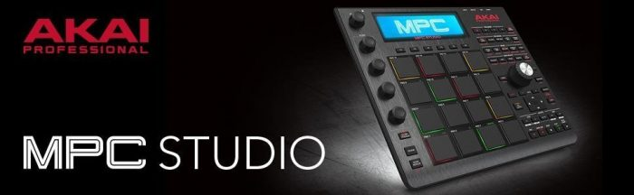 Akai MPC studio midi controller beatmaking MPC pads
