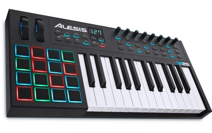 Alesis virtual instrument keyboard midi controller pads black friday deals sales