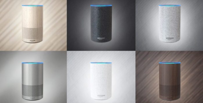 Amazon Echo second generation smart speaker alexa music streaming