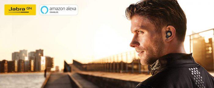 Jabra Elite Earbuds sport wireless alexa earphones cyber monday deals