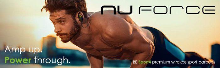 Optoma NuForce earphones earbuds wireless sport cyber monday deals