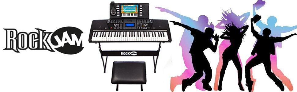 Rockjam keyboard keys piano deals discount sales black friday cyber monday deals week