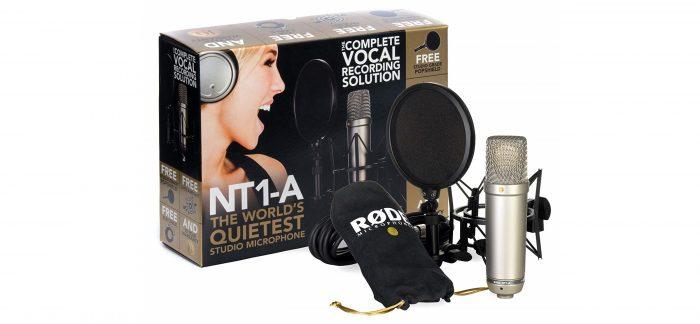 Rode NT1A microphone studio condenser cyber monday deals