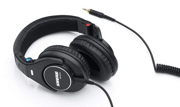 Shure SRH840 headphones