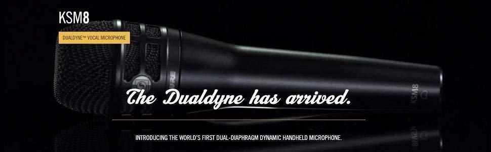 Shure Dualdyne KSM8 microphone shure recording black friday cyber monday deals week