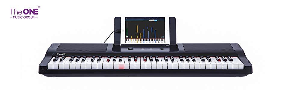 The one smart piano keyboard smart learning keys sale discount deals black friday cyber monday deals week