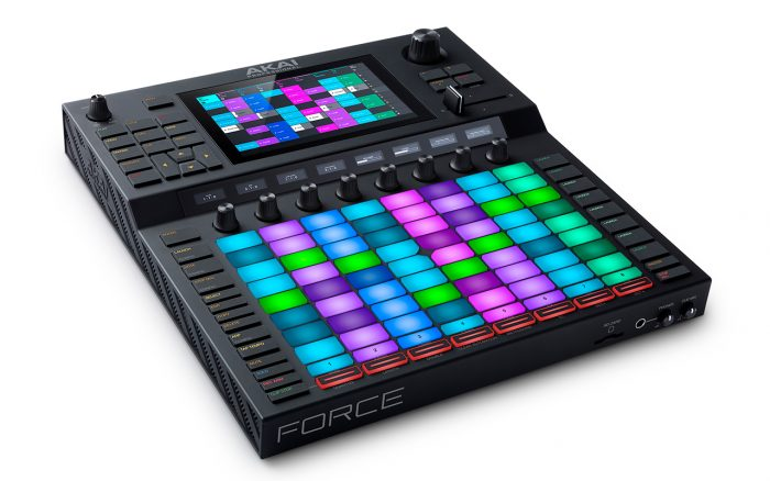 Akai Professional Force MPC studio music production all in one hardware
