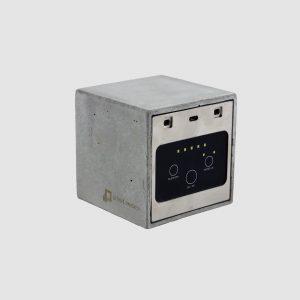 concrete le pave parisien bluetooth speaker french music portable