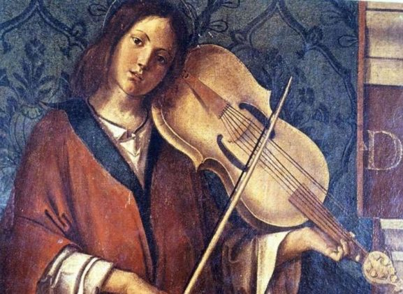 lira da braccio instrument violin evolution renaissance stringed bow f shape holes