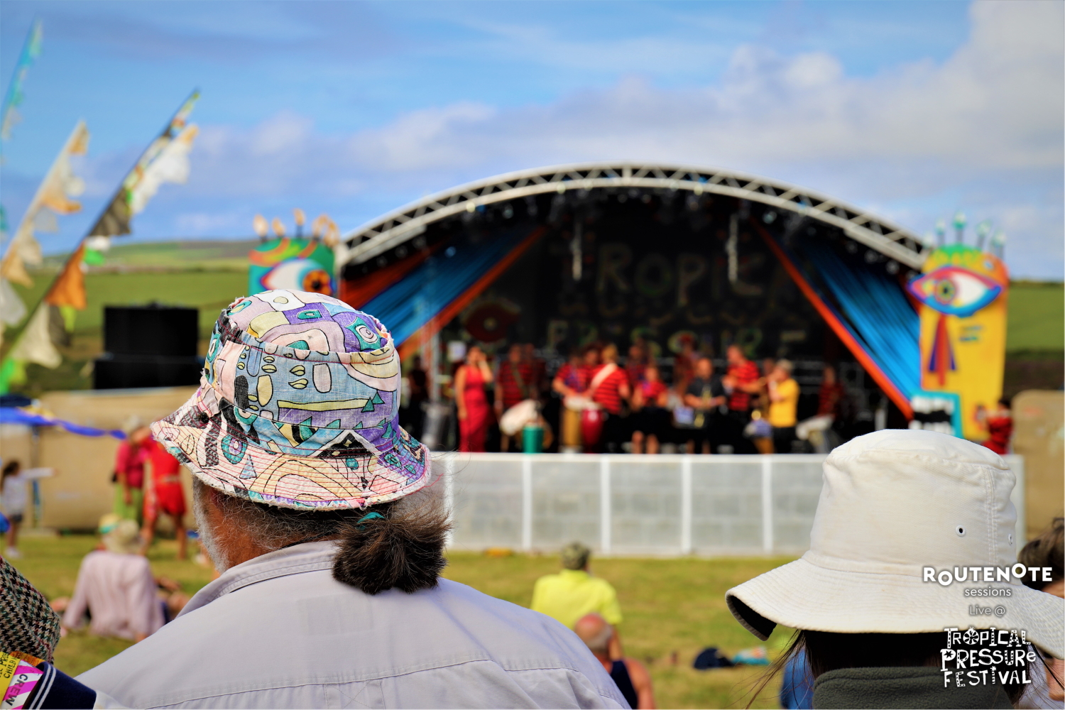 Tropical Pressure festival routenote sessions artists colourful cornwall world music caribbean latin american africa music review