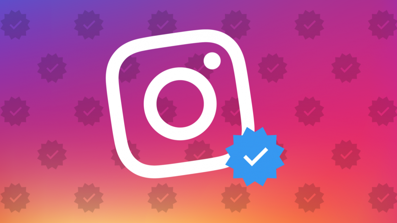 Instagram verified blue badge for profiles and how to get it