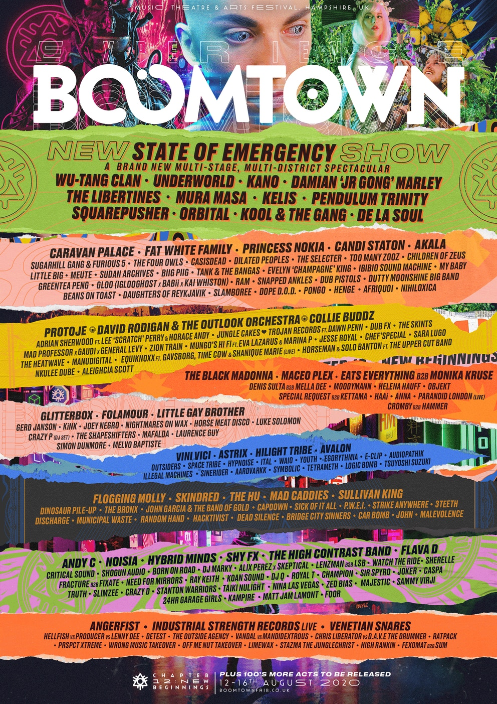 Boomtown 2020 line up chapter 12