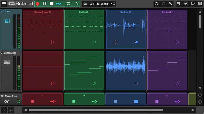 Roland Zenbeats free music making app
