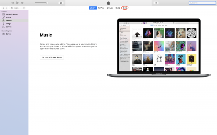 iTunes - Step One