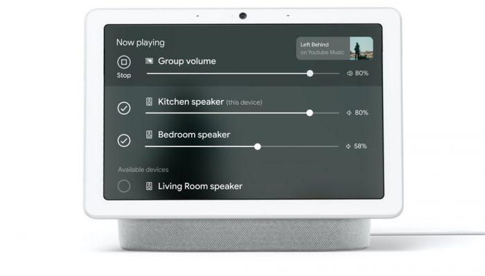 Google Nest Hub multi-room control