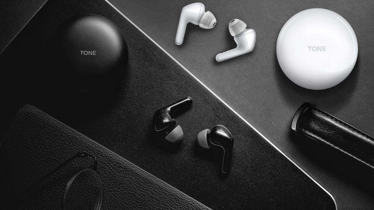 LG Tone Free earbuds sem fios