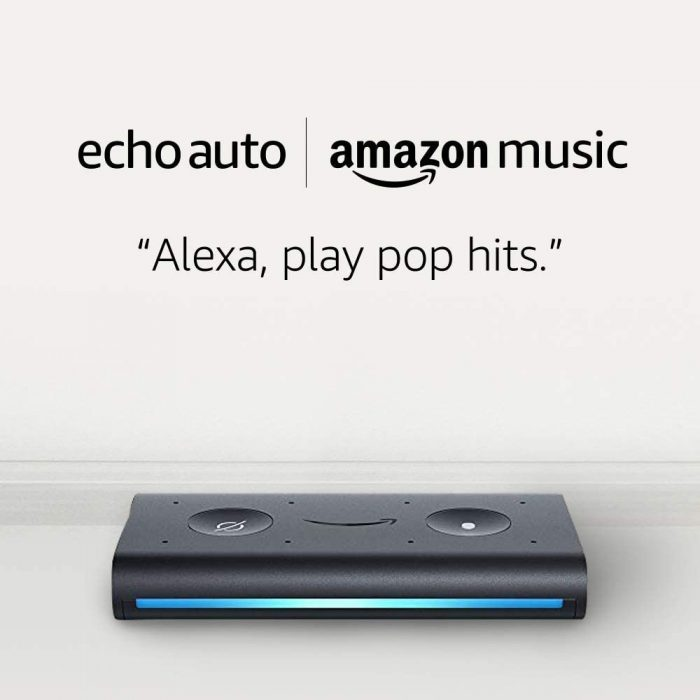 Echo Auto and 6 months of Amazon Music Unlimited FREE w: autorenewal