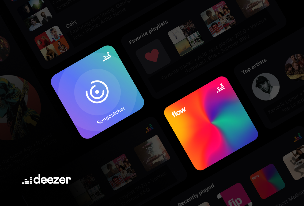 Discover music in a single tap with Deezer's new iPhone widgets - RouteNote  Blog