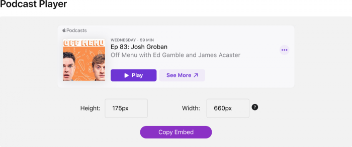 Apple Podcasts Marketing Tools